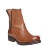 Bottine en cuir à zip weinbrenner, Brun, 594-3107 - 13