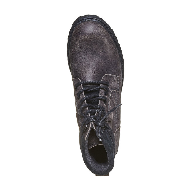 Chaussures d'hiver en cuir pour homme weinbrenner, Gris, 894-2256 - 19