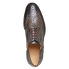 Oxford en cuir shoemaker, Gris, 824-2594 - 19