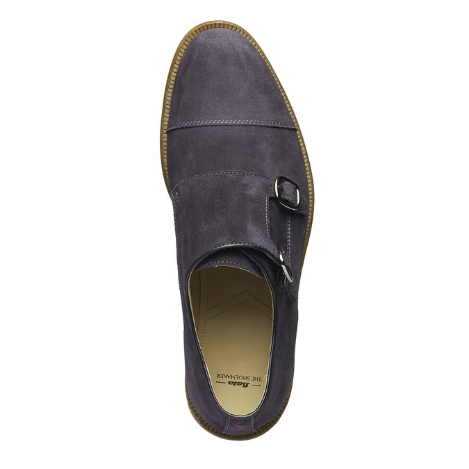 Monk Shoe en cuir shoemaker, Violet, 813-9104 - 19