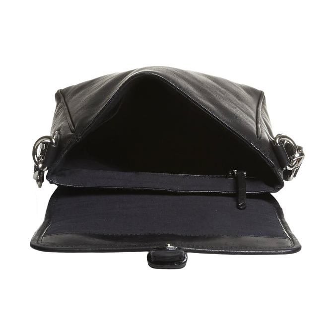 Le sac à bandoulière avec boucle Seymur bata, Noir, 964-6104 - 15