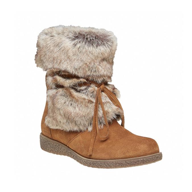 Chaussure d'hiver pour femme bata, Brun, 593-3992 - 13