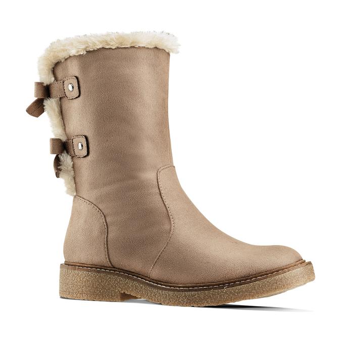 Chaussure d'hiver pour femme à nœuds bata, Gris, 599-2994 - 13