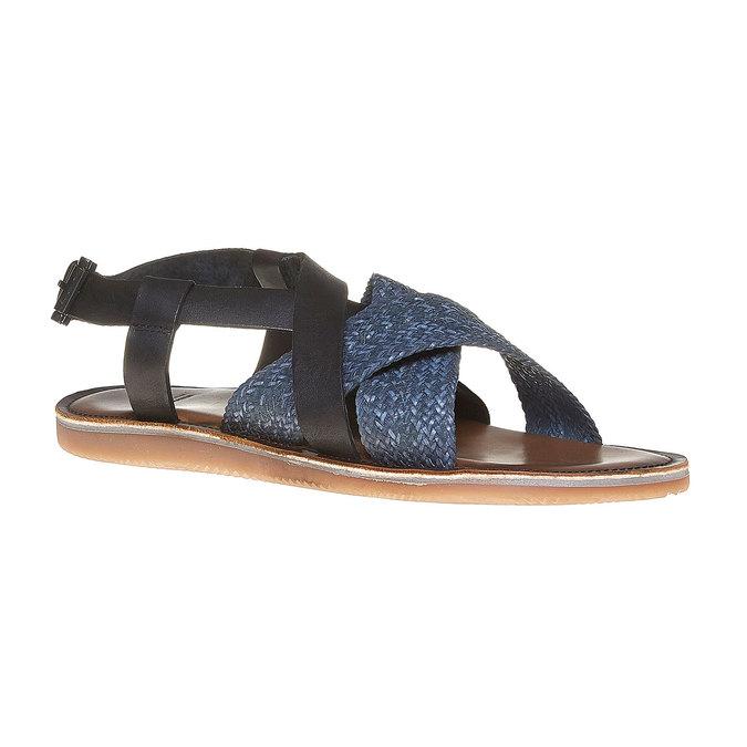 Sandale en cuir homme shoemaker, Violet, 864-9235 - 13