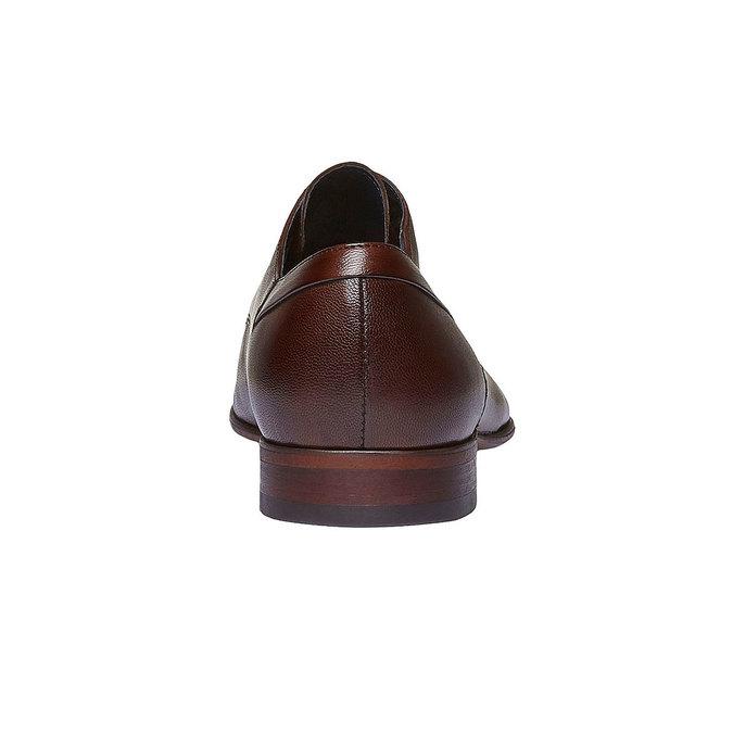 Chaussure lacée Derby en cuir bata, Brun, 824-4536 - 17