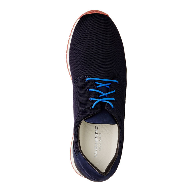 Chaussures Homme vagabond, Noir, Bleu, 849-9019 - 19