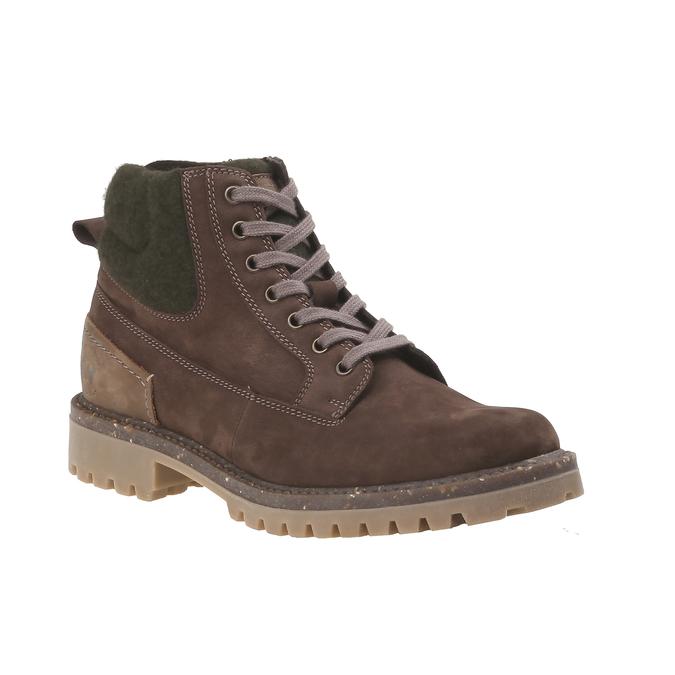 Chaussures de marche nubuck weinbrenner, Brun, 896-4628 - 13