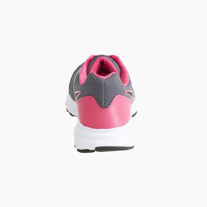 Tennis de sport Nike pour femme nike, Gris, 509-2221 - 17