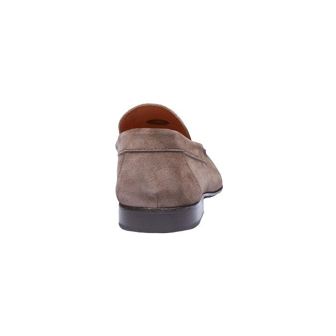 Mocassin en cuir homme shoemaker, Brun, 813-4149 - 17
