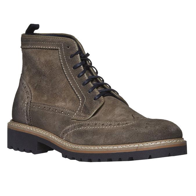 Boots en daim bata, Brun, 893-2372 - 13