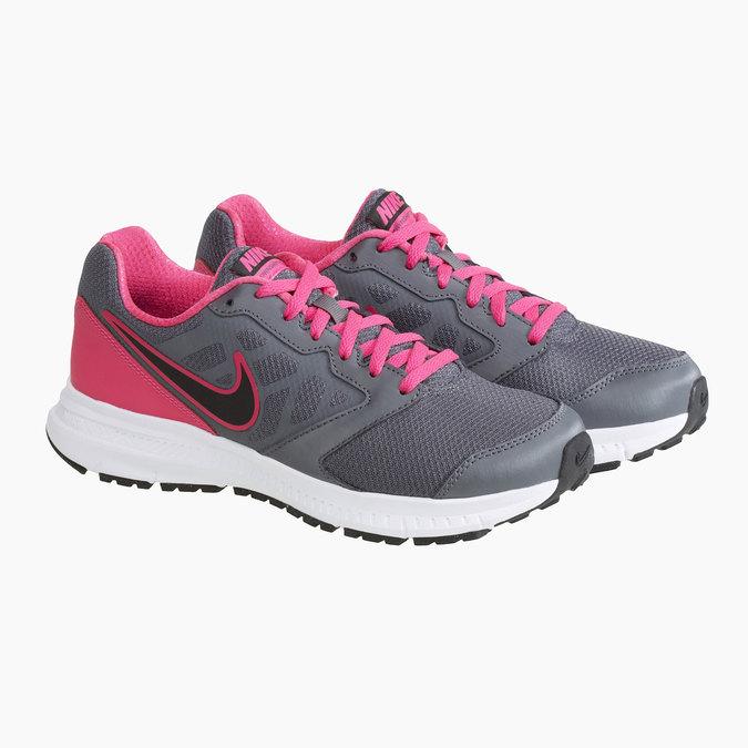 Tennis de sport Nike pour femme nike, Gris, 509-2221 - 26