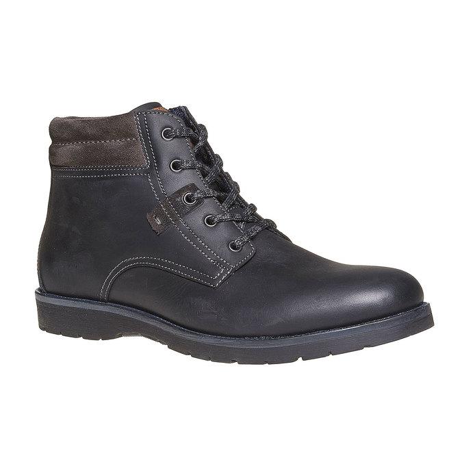 Chaussure montante pour homme bata, Noir, 894-6281 - 13