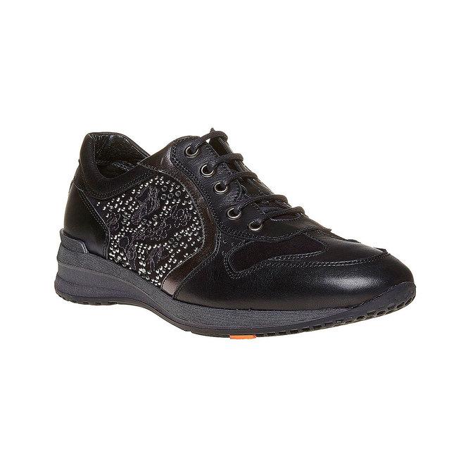 Chaussures Femme flexible, Noir, 524-6223 - 13