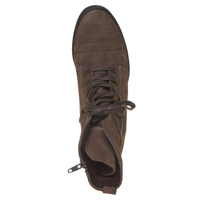 Chaussure en cuir pour femme bata, Brun, 593-4106 - 19