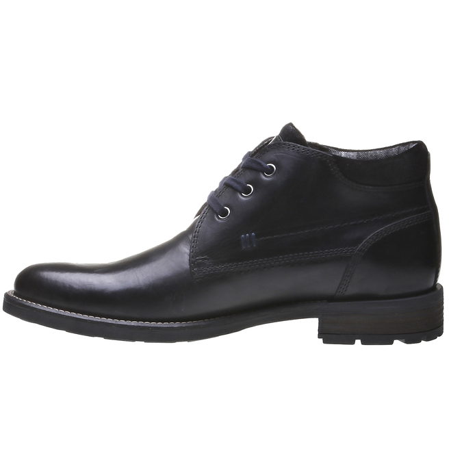 Bottines bata, Noir, 894-6661 - 15