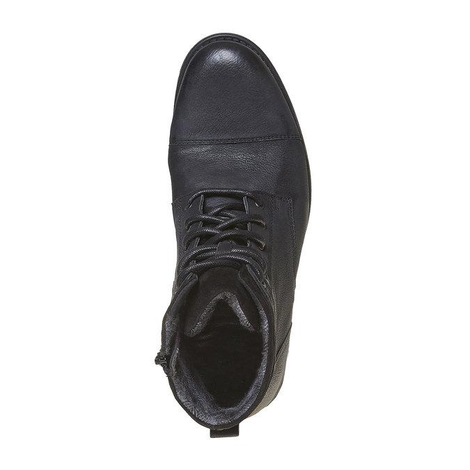 Chaussure en cuir pour homme bata, Noir, 894-6284 - 19