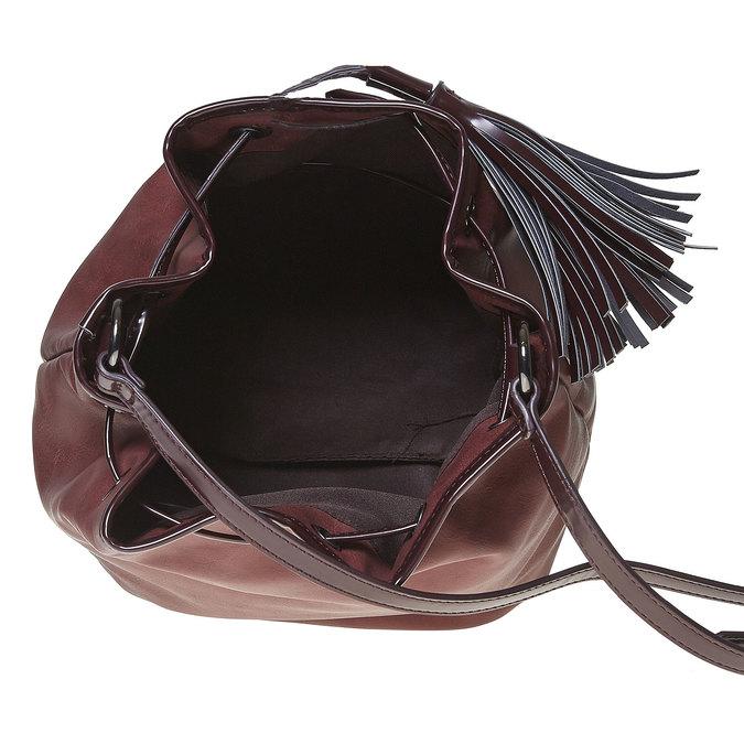 Sac à main Bucket bag bata, Rouge, 961-5884 - 15