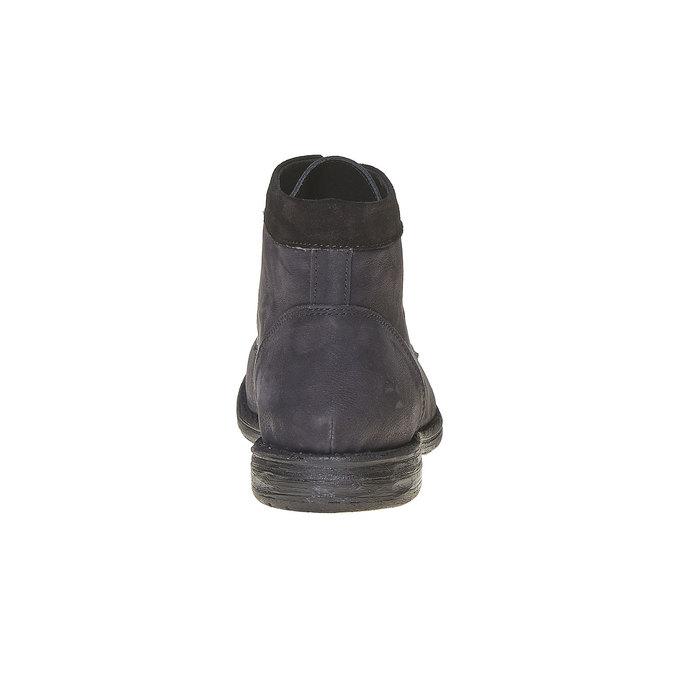 Chaussure montante en cuir pour homme bata, Noir, 896-6704 - 17