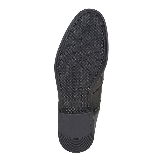 Chaussure lacée Derby homme bata, Noir, 821-6430 - 26
