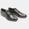 Chaussure lacée en cuir pour homme bata, Noir, 824-6870 - 26