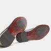 Chaussure lacée en cuir pour homme bata, Noir, 824-6870 - 17