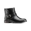 Chaussures motard pour femme bata, Noir, 591-6368 - 13