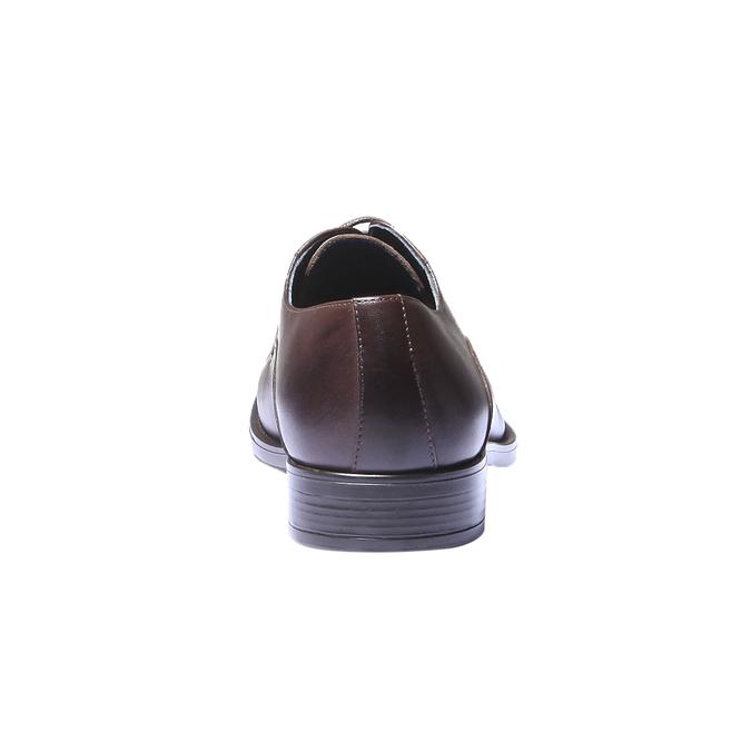 Chaussure lacée Derby en cuir bata, Brun, 824-4874 - 17