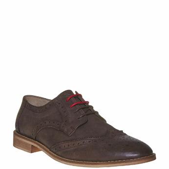 Chaussure en cuir homme bata, Brun, 824-4286 - 13