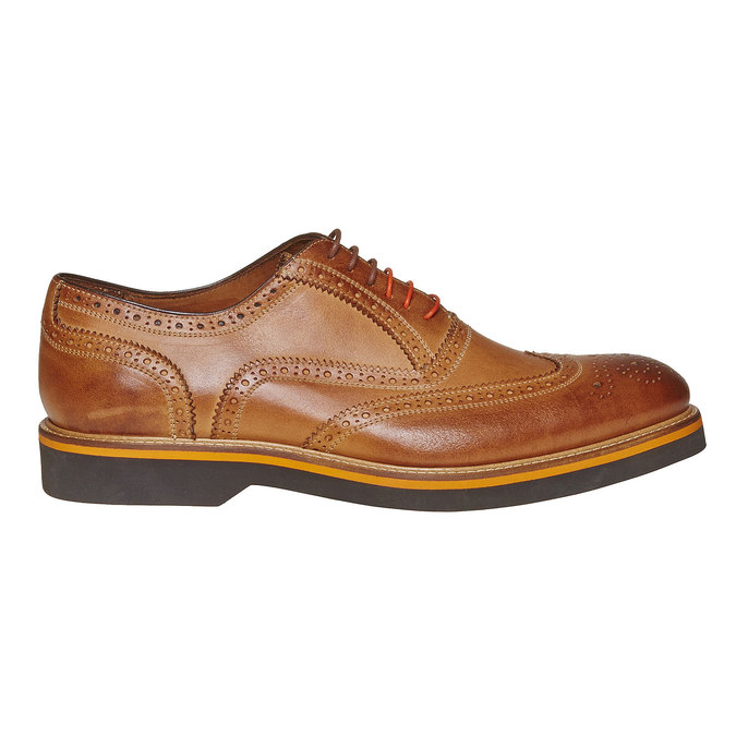 Chaussure Oxford marron bata-the-shoemaker, Jaune, 824-8776 - 15