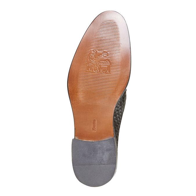 Derby homme en cuir bata-the-shoemaker, Noir, 824-6295 - 26