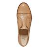 Chaussure en cuir sans lacet bata, Brun, 514-3267 - 19