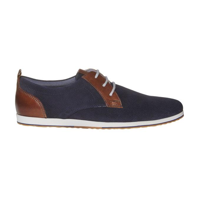 Chaussure en cuir homme bata, Violet, 823-9234 - 15