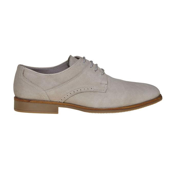 Chaussure Derby homme bata, Gris, 826-2241 - 15