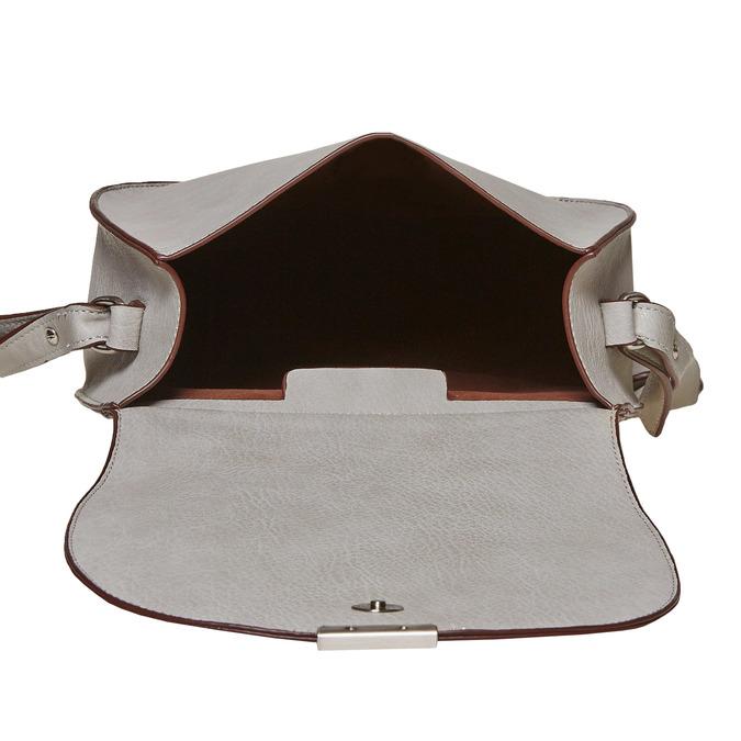 Sac Crossbody à bandoulière originale bata, Gris, 961-2364 - 15