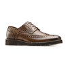 Derbies en cuir bata-light, Brun, 824-4399 - 13