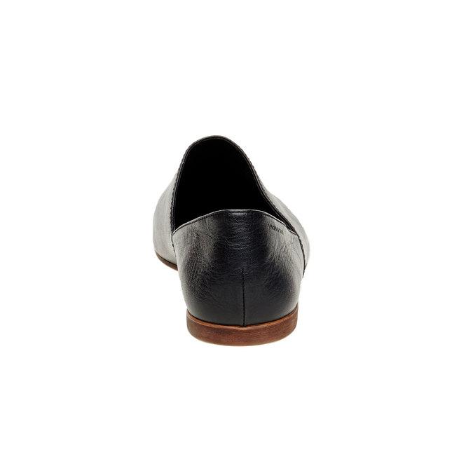 Slip on en cuir vagabond, Noir, 514-6100 - 17