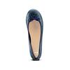 Ballerines en cuir bata, Violet, 524-9144 - 17