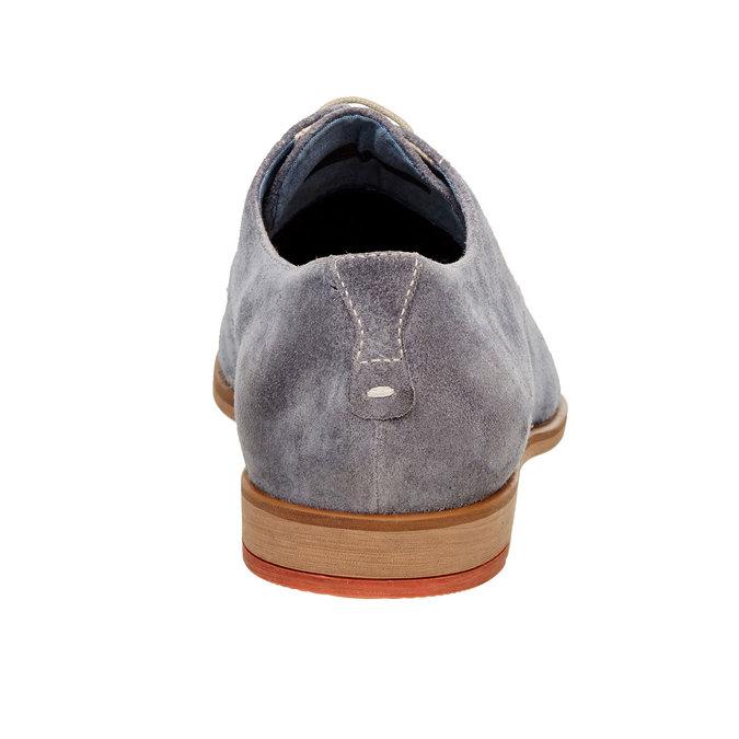 Chaussure lacée Derby en cuir vagabond, Violet, 823-9104 - 17