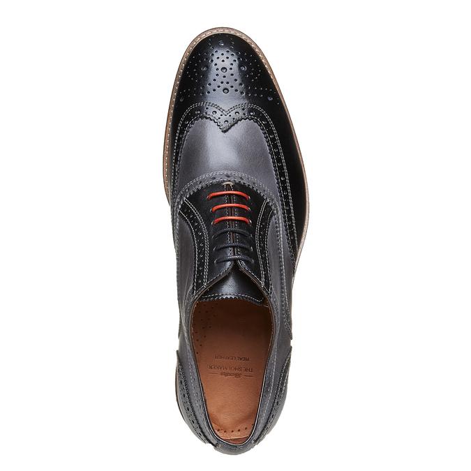 Oxford en cuir à semelle épaisse bata-the-shoemaker, Gris, 824-2132 - 19