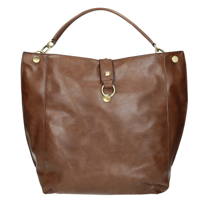 Sac Hobo marron bata, Brun, 961-3808 - 19
