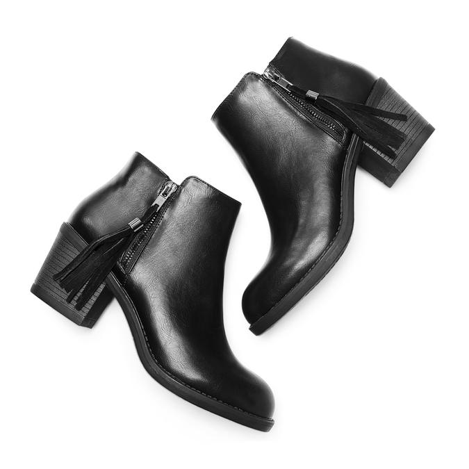 BATA Chaussures Femme bata, Noir, 691-6220 - 26