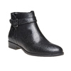 Bottines en cuir bata, Noir, 594-6167 - 13