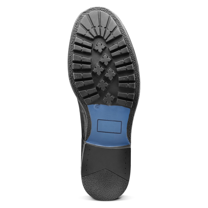 Chukka Boots en cuir pour homme bata, Noir, 894-6282 - 17