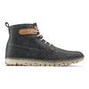 Chaussures lacées en cuir weinbrenner, Bleu, 896-9340 - 26