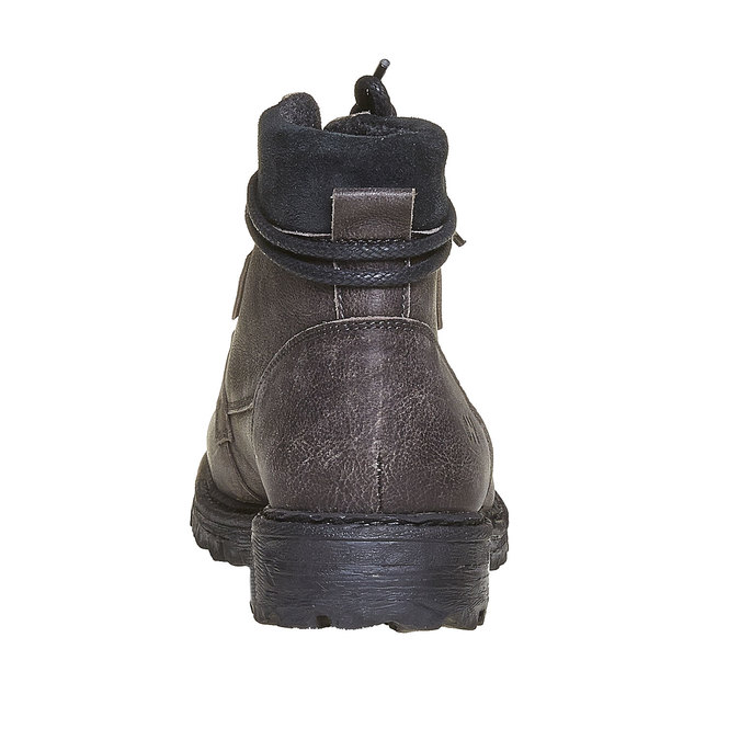 Chaussures d'hiver en cuir pour homme weinbrenner, Gris, 894-2256 - 17