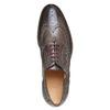 Oxford en cuir shoemaker, Gris, 824-2594 - 19