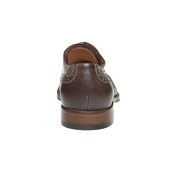 Oxford en cuir shoemaker, Gris, 824-2594 - 17
