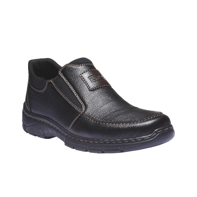 Chaussures à enfiler homme rieker, Noir, 814-6121 - 13