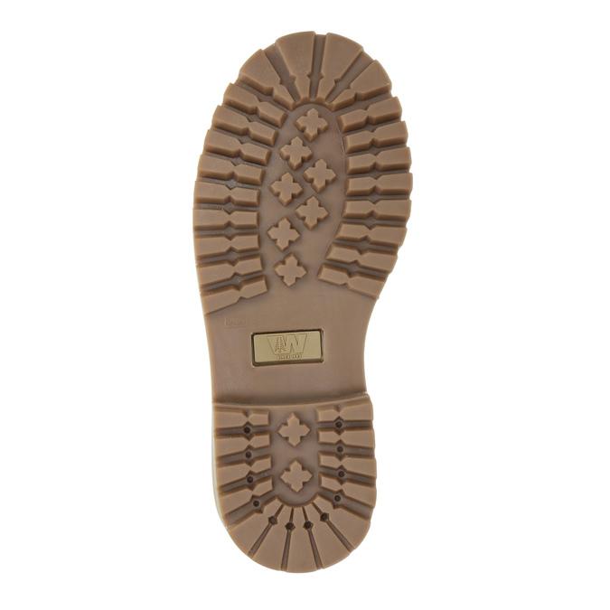 Chaussure pour enfant à semelle marquée weinbrenner-junior, Rouge, 396-5182 - 26