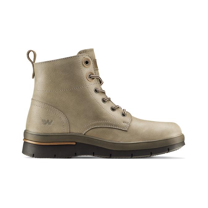Women's shoes weinbrenner, Gris, 596-2108 - 26